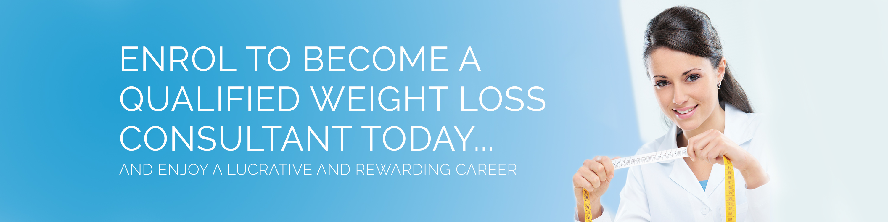 Become a Certified Weight Loss Consultant